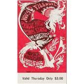 Pink Floyd  Procol Harum  1967 Vintage Concert Ticket