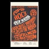 Andy Warhol  1966 Fillmore Concert Handbill