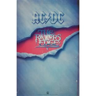 AC/DC - Razor Edge - 1990 Promo Poster