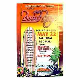 The Beach Boys 1999 Concert Poster