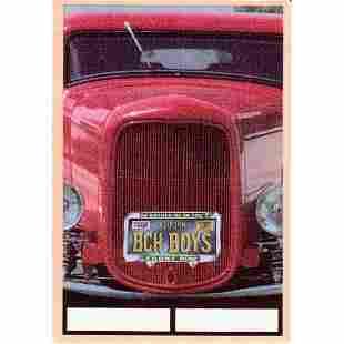 The Beach Boys 1999 Backstage Pass
