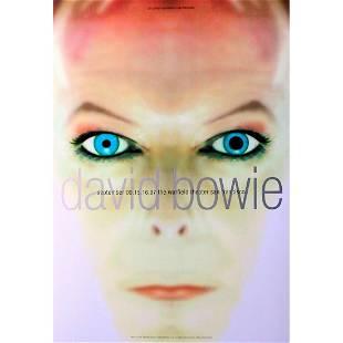 David Bowie Warfield Theatre 1997 Concert Poster