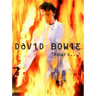 David Bowie 1999 Promotional Poster