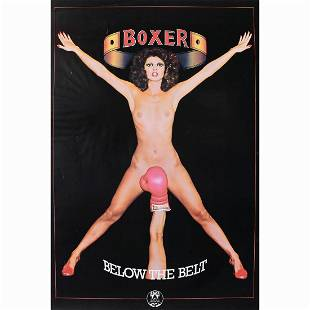 Boxer Below the Belt Promo Poster