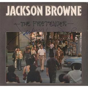 Jackson Browne 1976 Autographed LP Cover