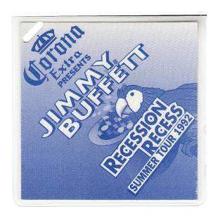 Jimmy Buffett 1992 Laminated Backstage Pass
