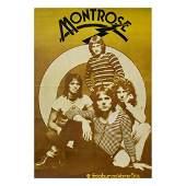 Montrose - Sammy Hagar - 1973 Promo Poster