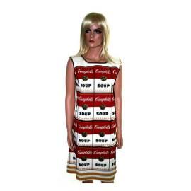Andy Warhol - 1968 Souper Dress