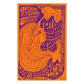 Jimi Hendrix  1967 Fillmore Concert Handbill