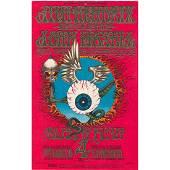 Jimi Hendrix - Flying Eyeball - 1968 Concert Handbill