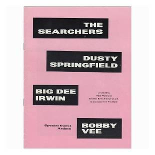 The Searchers 1964 Concert Tour Program