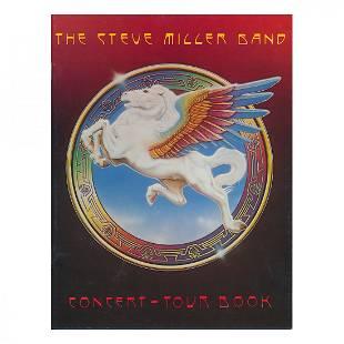 Steve Miller Band 1977 Concert Tour Program
