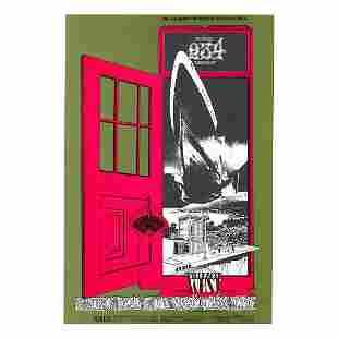 Grateful Dead 1969 Concert Handbill