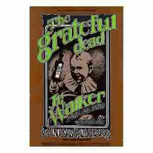 Grateful Dead Junior Walker 1969 Concert Handbill