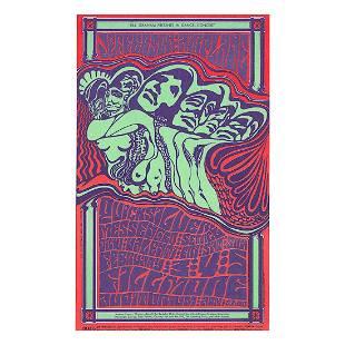 Jefferson Airplane 1967 Concert Handbill