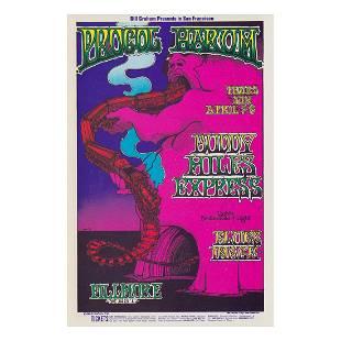Procol Harum 1969 Concert Handbill