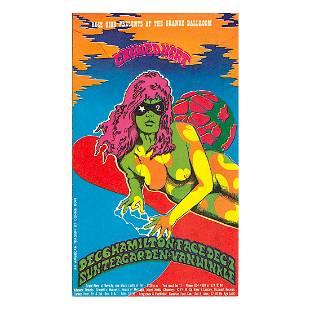 Canned Heat 1968 Grande Ballroom Handbill