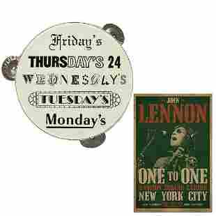 John Lennon 1972 One To One Benefit Concert