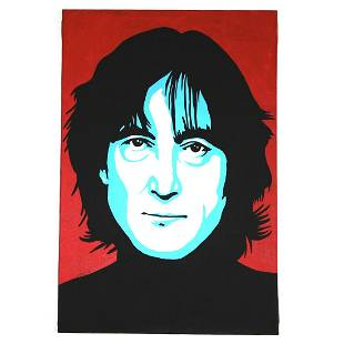 John Lennon Patrick Carney Original Painting