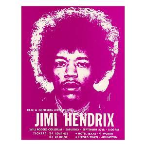 Jimi Hendrix - 1969 Concert Handbill