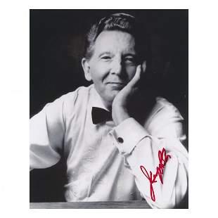 Jerry Lee Lewis Autographed Photograph