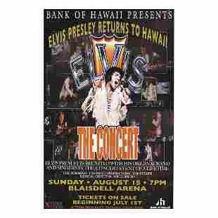 Elvis Presley - Concert Poster