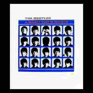 The Beatles - A Hard Day's Night - Ltd Edition Print