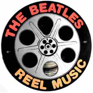 The Beatles - Reel Music - 1982 Promotional Cut-out