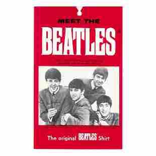 The Beatles - 1964 Photo Wallet Fan Card