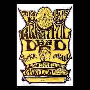 Grateful Dead - 1966 Concert Poster