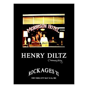 The Doors - Henry Diltz - Signed Poster