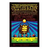 Jimi Hendrix - 1968 Winterland Concert Handbill