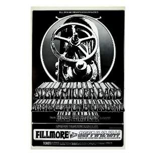 Steve Miller Band - 1969 Concert Poster