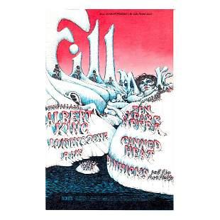 Albert King - Canned Heat - Concert Handbill