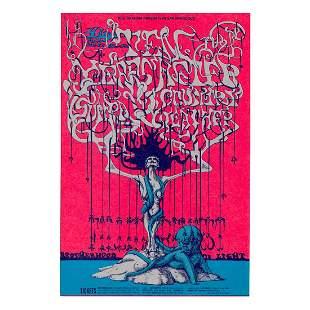 Ten Years After - 1968 Concert Handbill