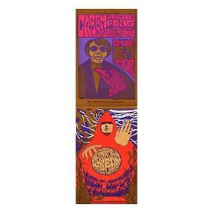 Cream - 1967 Fillmore Double-sized Handbill