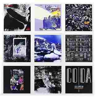 Led Zeppelin - 2014 Complete Lithographs LP Set