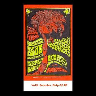 Electric Flag - 1967 Vintage Concert Ticket