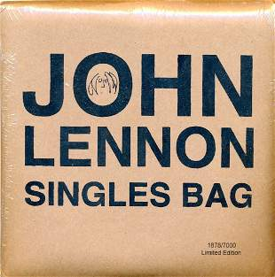 John Lennon - 2010 Sealed Singles Bag