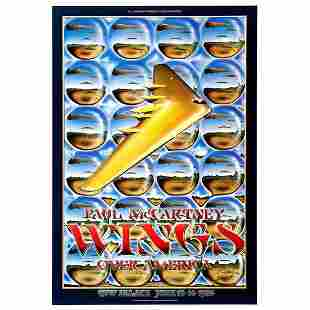 Wings - Wings over America - 1976 Concert Tour Poster