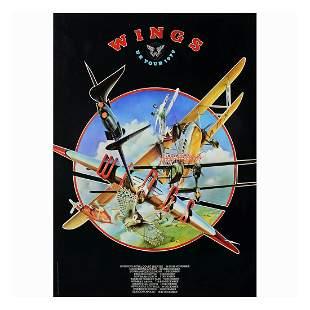 Wings - 1979 UK Concert Tour Poster
