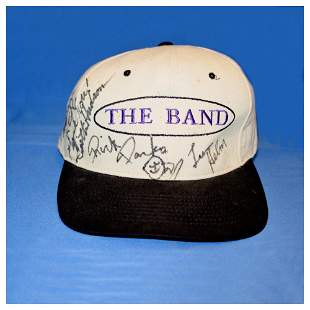 The Band - Autographed Baseball Cap