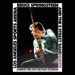 Bruce Springsteen & The E Street Band - 1981 Poster