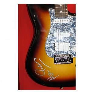 Alan Parsons - Autographed Electric Guitar