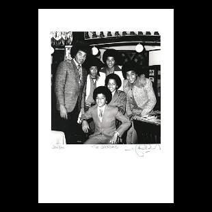 The Jacksons - 1973 Signed Ltd Edition Print