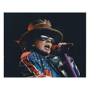 Axel Rose - GNR - Autographed Photograph