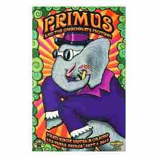 Primus - 2015 HRH Concert Poster