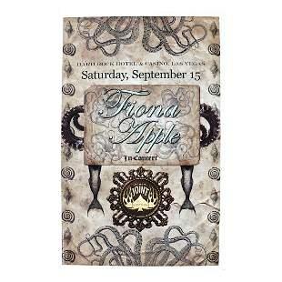 Fiona Apple - 2012 HRH Concert Poster