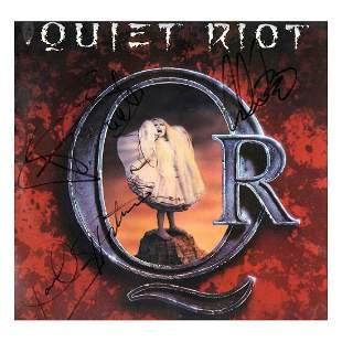 Quiet Riot - 1988 Autographed LP