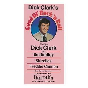 Bo Diddley - 1978 Concert Handbill